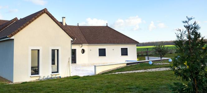 Construction de maison à Cluny