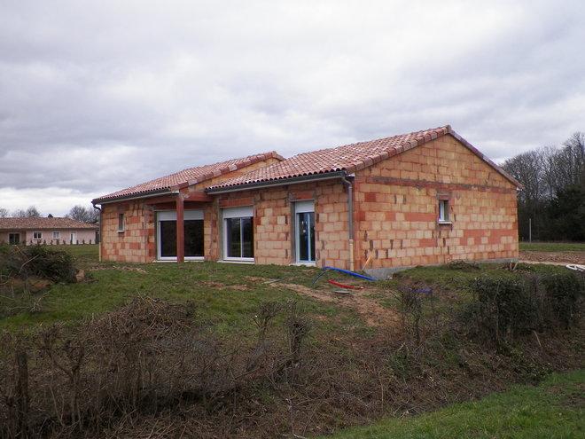 Construction d'une maison à Cuisery